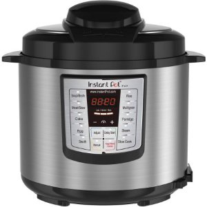 Instant Pot LUX60 V3 6 Qt 6-in-1 Muti-Use Programmable Pressure Cooker, Slow Cooker, Rice Cooker, Sauté, Steamer, and Warmer - Walmart.com