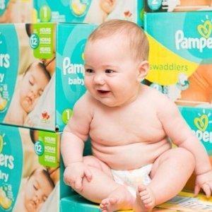 买两包或以上享额外8折Pampers、Luvs 宝宝湿巾、尿布折上折大促