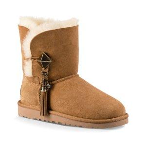 UGG® Chestnut Lillian Suede Boot - Little Kids & Kids | zulily