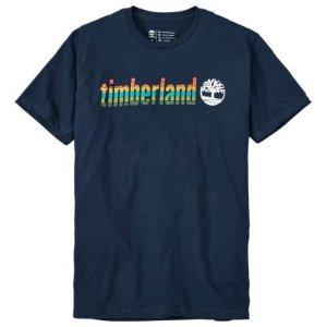 Timberland | Men's Lowercase Logo Graphic T-Shirt