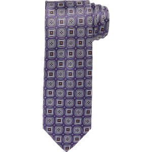 Executive Square Medallion Tie CLEARANCE - Ties | Jos A Bank