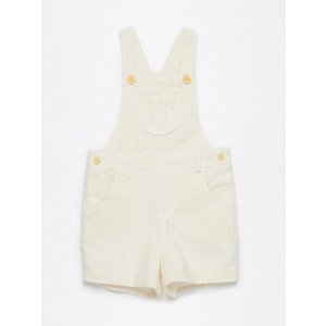Woven Stripes Short Overall by Neck & Neck at Gilt