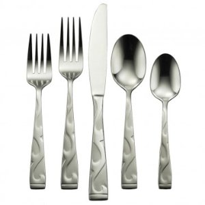 Oneida Tuscany 45 Piece Casual Flatware Set, Service for 8 - Summer Black Friday - Sale