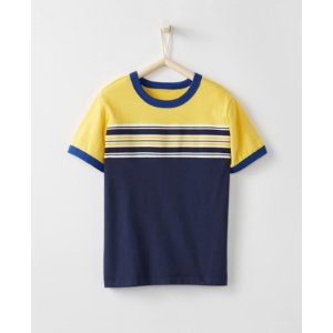 Boys Stripeblock Tee in Supersoft Jersey from Hanna Andersson