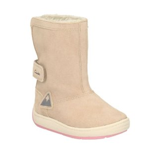 Maxi Bounce First Natural Suede - Girls Boots - Clarks® Shoes Official Site