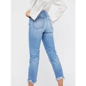3x1 Higher Ground Boyfriend Crop Jeans at Free People Clothing Boutique