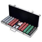 Trademark Poker 500个筹码组,home 趴、棋牌游戏必备!包邮