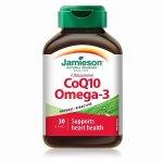 Jamieson 健美生 辅酶CoQ10 + Omega-3鱼油软胶囊30粒