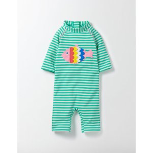 Fluttery Fish Surf Suit 71566 Rash Guards and Surf Suits at Boden