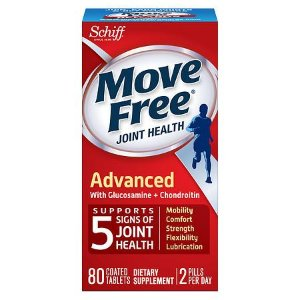 Schiff Move Free Advanced Triple Strength Glucosamine Chondroitin, Coated Tablets | Walgreens