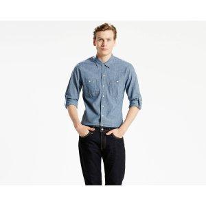 Classic Roll Sleeve Workshirt | Chambray Indigo |Levi's® United States (US)