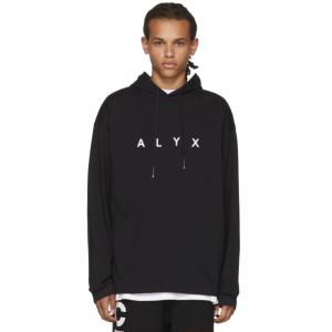 Alyx: SSENSE Exclusive Black Logo Hoodie