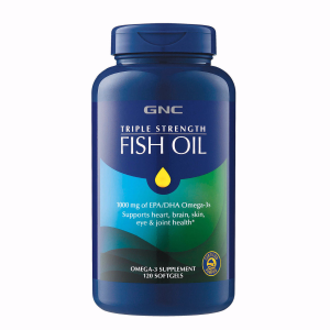 Triple Strength Fish Oil 120 Softgels