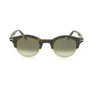 Céline JULIA CL 41395/S Acetate Round Women's Sunglasses