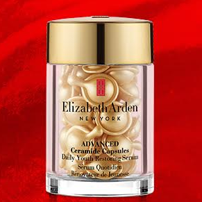 Celebrate Mid-Autumn Festival!  25% OFF + 30 Free New Advanced Ceramide Capsules @ Elizabeth Arden