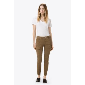 Houlihan Mid-Rise Cargo in Distressed Sand Dunes | J Brand