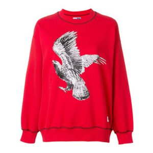 eagle patch jumper