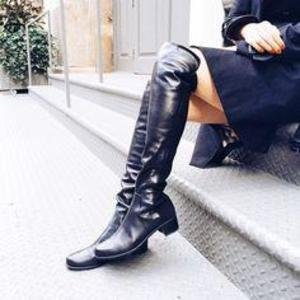 Reserve Leather Over-the-Knee Boot Over-the-Knee Boots