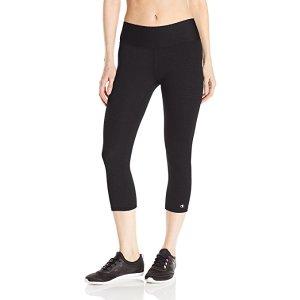 Champion Women's SmoothTec Capri Legging at Amazon Women's Clothing store: