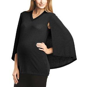 Maternal America Maternity Cape Top