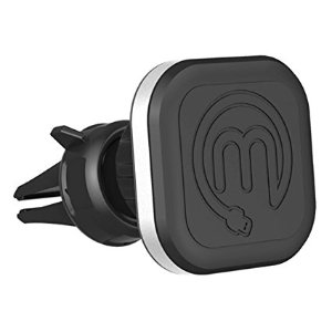 Magnetic Air Vent Car Mount – Aluma Magnetic Phone Holder – Universally Compatible For iPhone Samsung HTC LG Phones – Strong Magnetic Vent Mount
