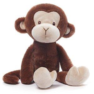 Amazon.com : Gund Baby Nicky Noodle Monkey Stuffed Animal : Baby
