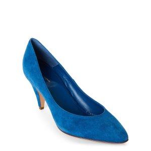 Bluette Classic Suede Heels