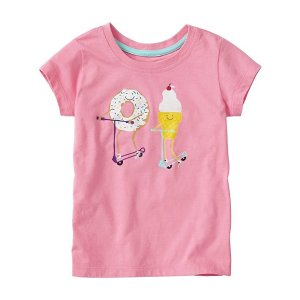 Girls Art Tee In Supersoft Jersey | Sale Girls Tops