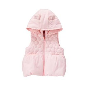 Toddler Girls Princess Pink Bunny Bubble Vest by Gymboree