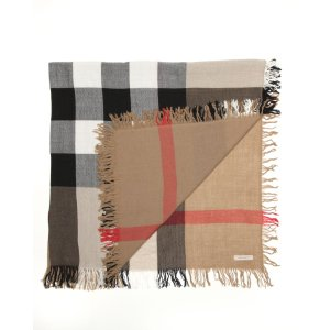 Burberry Color Check Wool Scarf | Bloomingdale's