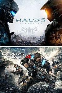 $35战争机器4 + 光环5:守护者 Xbox One双游戏下载码套装