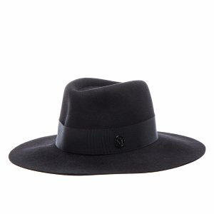 Maison Michel Charles Hat in Black | FWRD