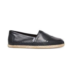 Black Full-Grain Leather Men's Classics | TOMS®