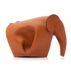 Elephant Shoulder Bag by Loewe