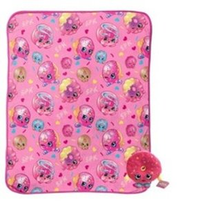 Shopkins Pink Throw Blanket (40