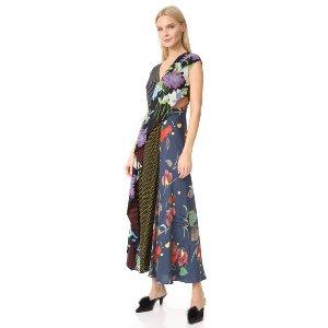 Diane von Furstenberg Ruffle Drape Dress | SHOPBOP