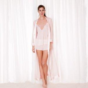 Long Kimono Pale Pink