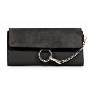 Chlo� - Mini Faye Leather & Suede Wallet - saks.com