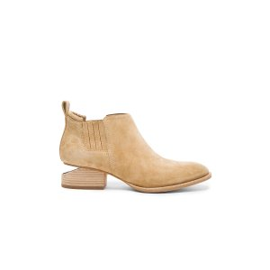 Alexander Wang Suede Kori Booties in Hemp