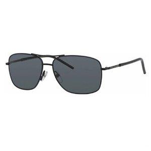 白菜价Marc Jacobs Polarized Men's Black Navigator Sunglasses 62/S 010G