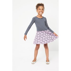 Tea Collection Mixed Print Dress (Toddler Girls, Little Girls & Big Girls) | Nordstrom