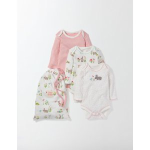 Bunnies 3 Pack Appliqué Bodies 71579 Tops & T-Shirts at Boden