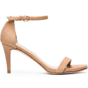 NuNaked Mid Heel Sandals - Shoes
