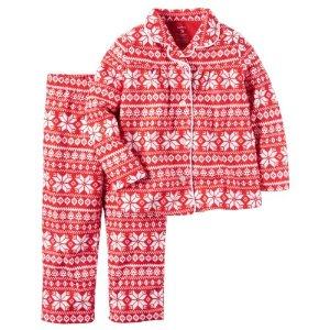 Girls 4-14 Carter's Print Pajama Set