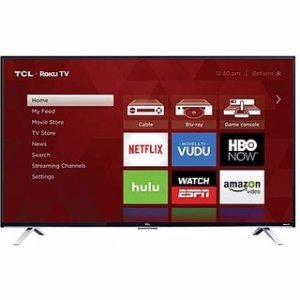 "$370TCL 55"" Class 4K (2160P) HDR Roku Smart LED TV (55S401)"
