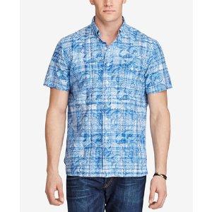 Polo Ralph Lauren Men's Big & Tall Printed Classic-Fit Shirt
