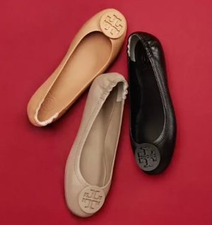 Last Day! $125 Off $500 Tory Burch Flats @ Neiman Marcus