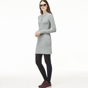 L!Ve Long Sleeve Pique Polo Dress | LACOSTE