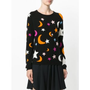 Chinti and Parker - Cashmere Midnight Sky Sweater | Kirna Zabete