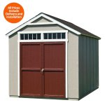 Outdoor Wood Sheds sale @ Homedepot